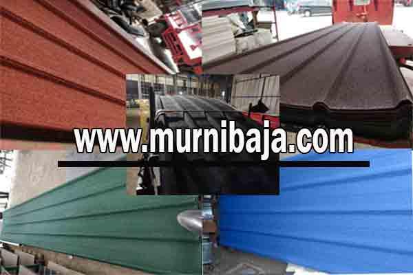 Jual Atap Spandek Pasir di Maluku - Harga Murah Berkualitas
