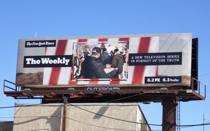 NY Times Weekly series billboard