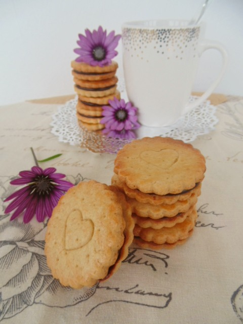 Galletas rellenas de chocolate - Sweetter