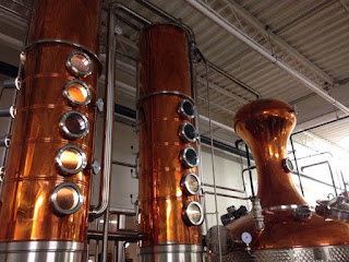 Making Grain whisky using column stills