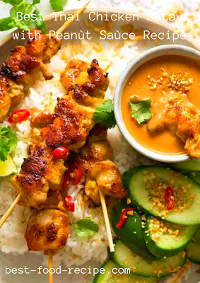 Best Thai Chicken Satay with Peanùt Saùce Recipe