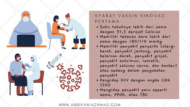 Vaksin Sinovac Pertama