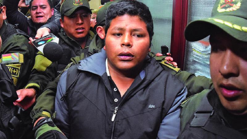 El dirigente cocalero fue aprehendido hace un año, días después pasó a detención preventiva en la cárcel de San Pedro / ARCHIVOS