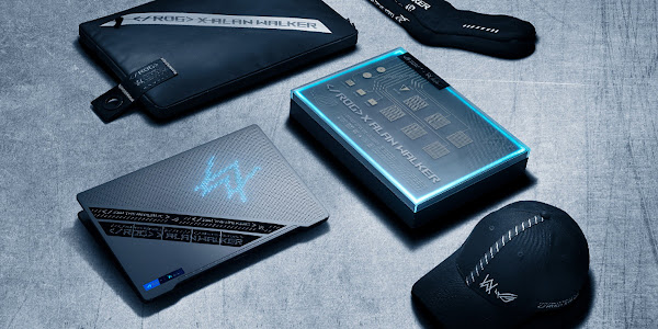 ROG Zephyrus G14 Alan Walker Special Edition harmoniza tecnologia e música