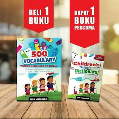 Buku 500 Vocabulary, Buku Pendidikan Viral, Buku Pendidikan 500 Vocabulary, Buku Pendidikan 500 Vocabulary Yang Terbaik Untuk Kanak - Kanak Hingga Dewasa,