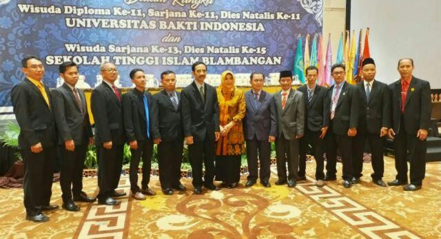 Gelar Rapat Senat Terbuka: STIB Wisudakan 45 Mahasiswa