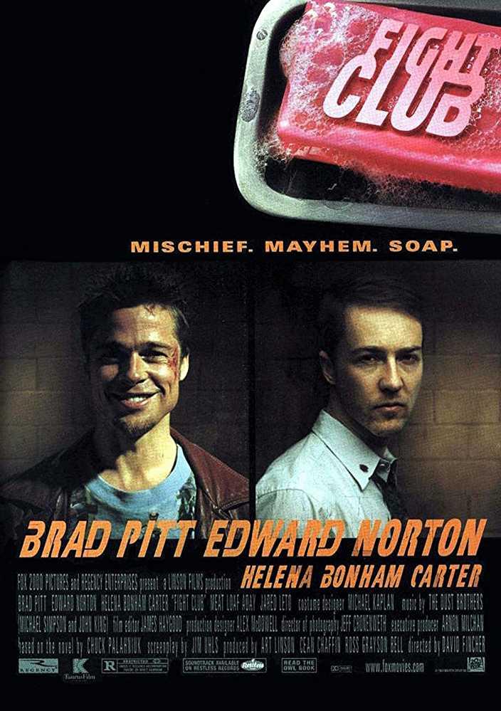 Fight Club 1999 BRRip 720p Dual Audio In Hindi English ESub