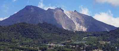 wisata gunung sibayak sumatera utara