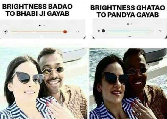 Memes Made On Hardik Pandya And Natasha Stanovich Engagement