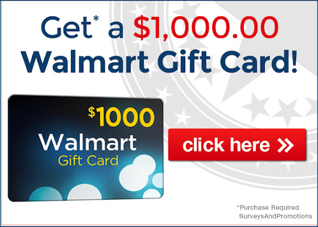 Get a 1000 walmart gift card best offers zone walmart gift card negle Gallery