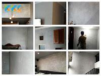 Pengecatan Dekoratif Teknik Polished Concrete