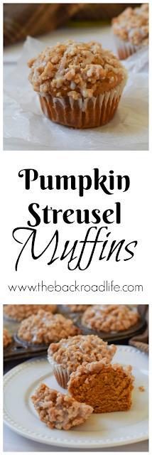 Pumpkin Streusel Muffins pinterest