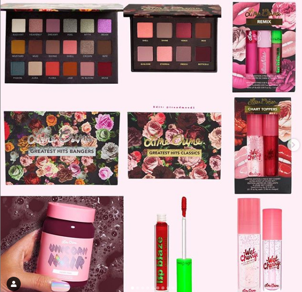 Lime Crime Holiday 2020 Collection