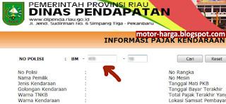 Pajak Mobil Motor Riau