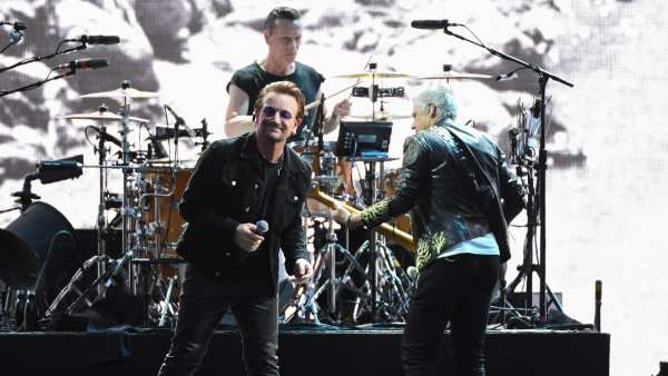 U2 en un concierto en Francia (25/07/2017)
