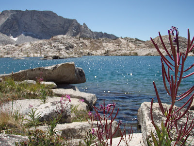 Hell for Sure Lake, Kings Canyon National Park, John Muir Wilderness California