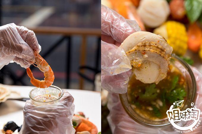 海鮮 高雄 美食 推薦 手抓海鮮 前金區 蝦桶 獨家