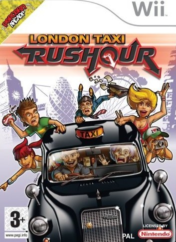 London%2BTaxi%2BRush%2BHour - London Taxi Rush Hour Wii