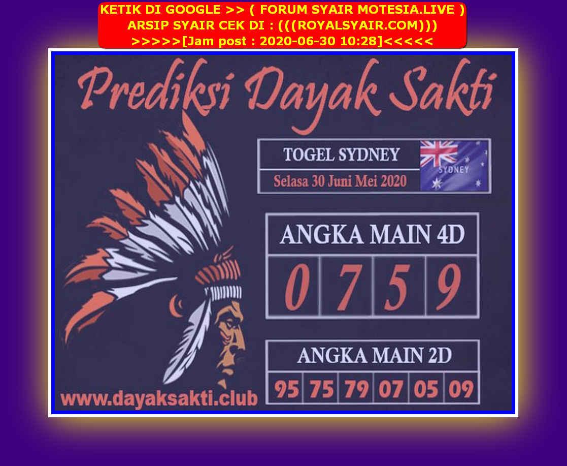 Kode syair Sydney Selasa 30 Juni 2020 159