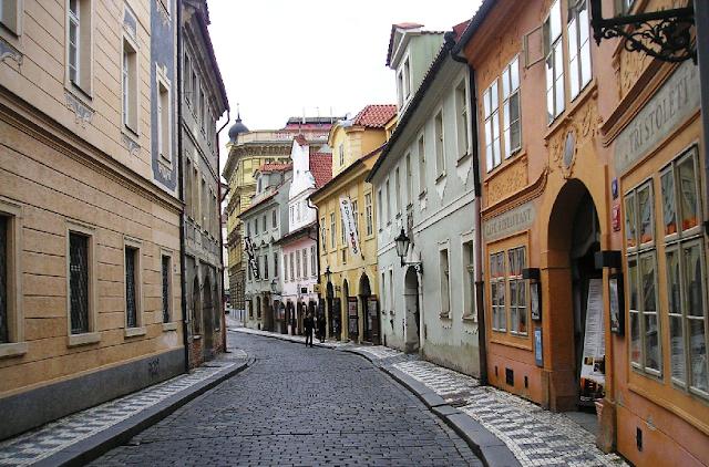 Bairro Malá Strana - Cidade Baixa em Praga
