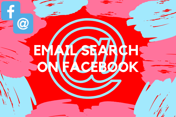 Email Search On Facebook