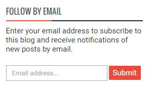 Follow by Email - Kotak Berlangganan - Subsciption Box