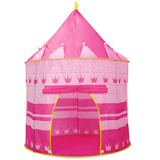 SALE Kiddie Castle Palace Tent (Blue)