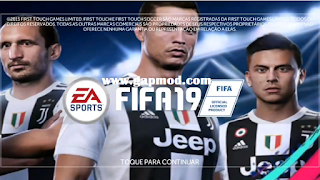 FTS Mod FIFA 19 Updated CR7 in Juve by Sixx Games