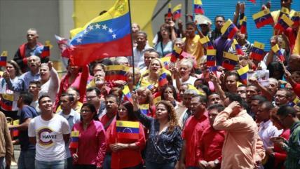 Pueblo venezolano sale a calles en respaldo a la Constituyente