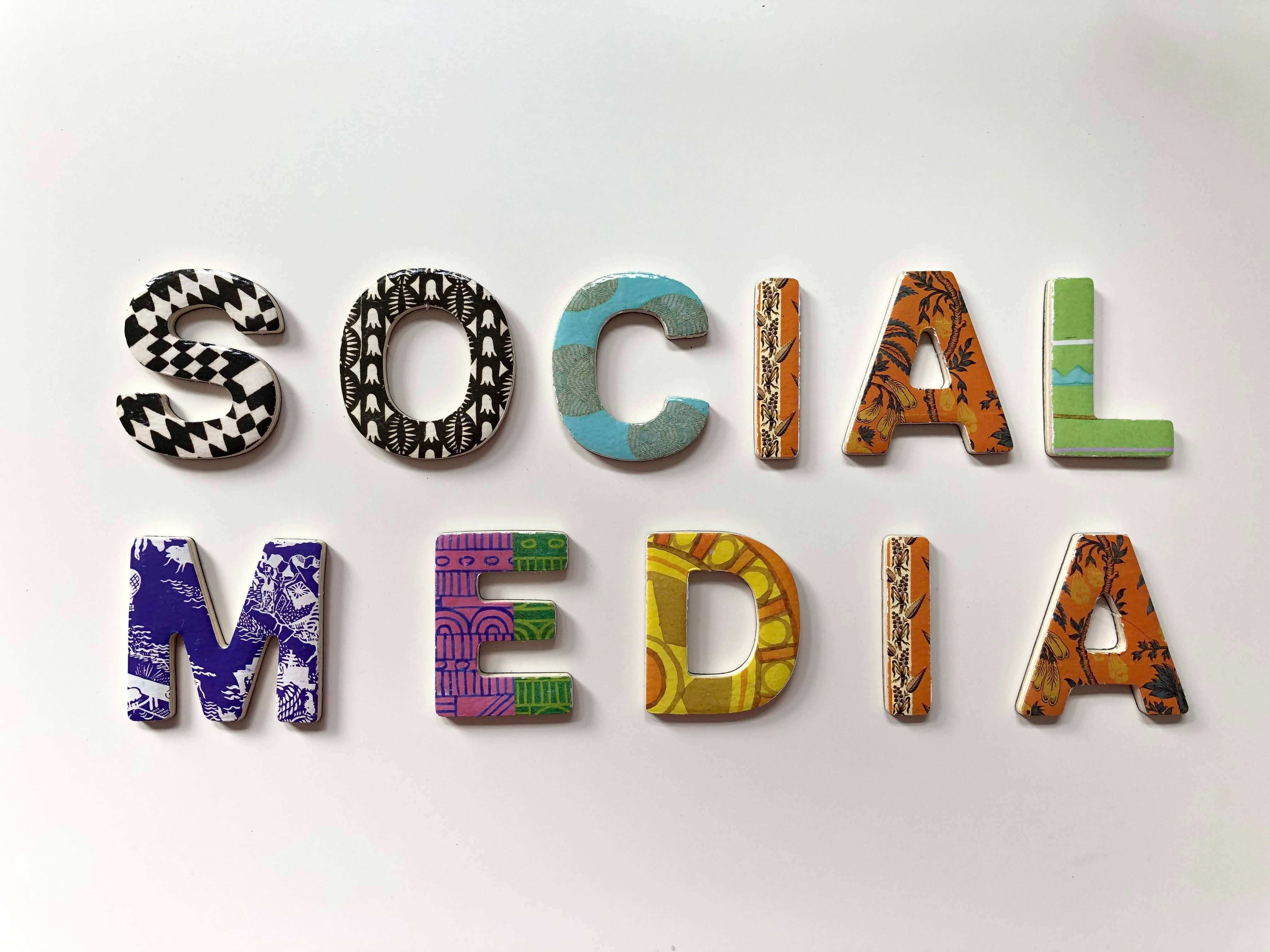 You should think again why you use social media and see if there is an addition