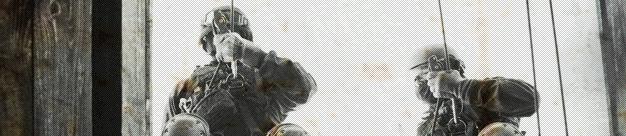 Wojska Specjalne podczas treningu czarnej taktyki