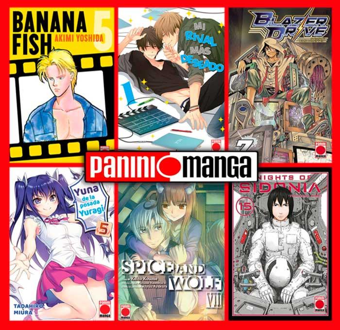 Novedades Panini Manga agosto 2020