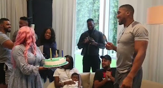 DJ Cuppy Arrange Welcome Back Party For Anthony Joshua (See Photos)