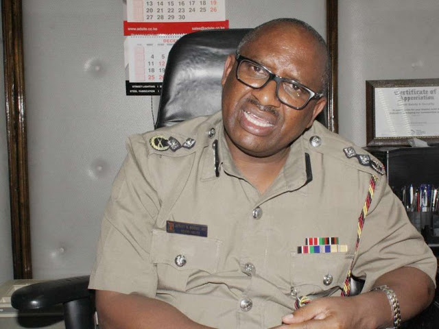 nairobi Police commander Japheth Koome in His office. PHOTO | The Star