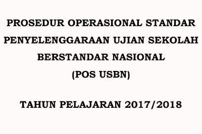 File dokumen POS USBN SD tahun pelajaran  BSNP Terbitkan POS USBN SD Tahun 2018,  Ini Filenya