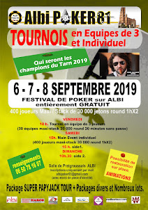 "Tournoi Freeroll ""Champion du Tarn"" 2019"