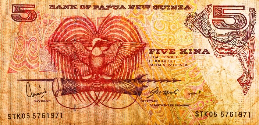 Currency in Papua New Guinea