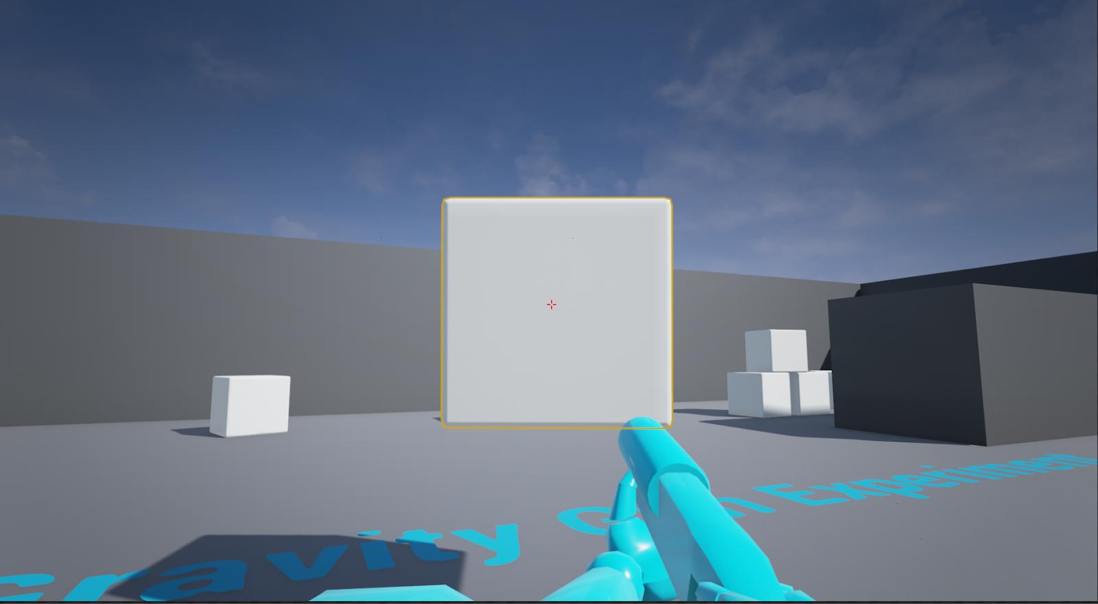 Unreal Possibilities: Unreal Engine Experiment #1: Gravity Gun