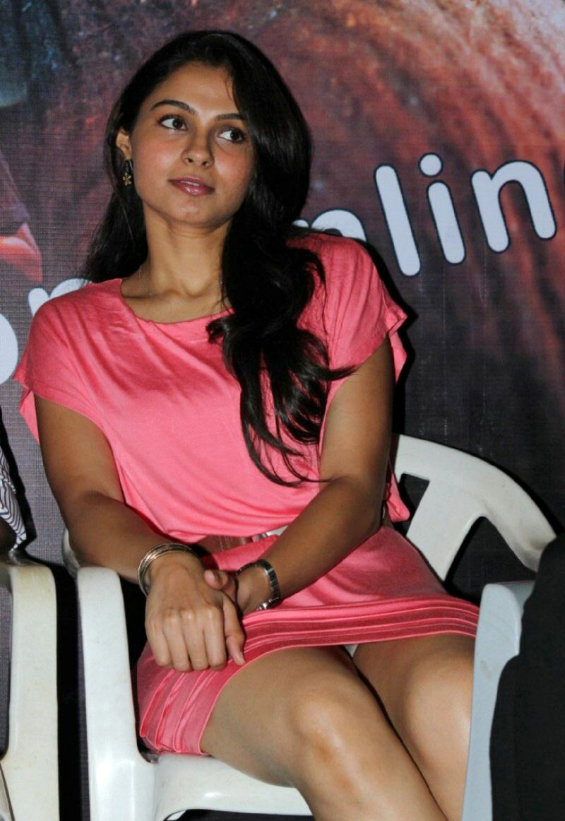 Andrea Jeremiah Panty Show At Audio Launch Event