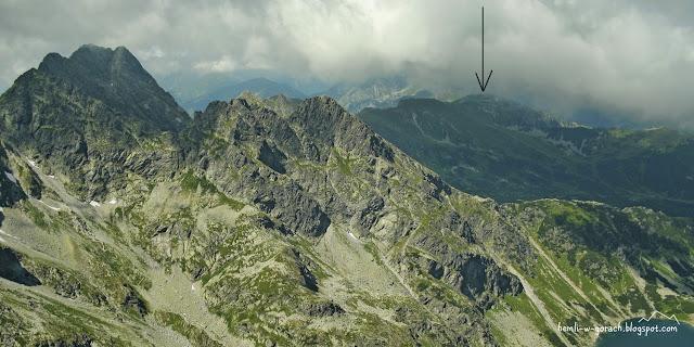 Kasprowy Wierch z Pośredniego Granata