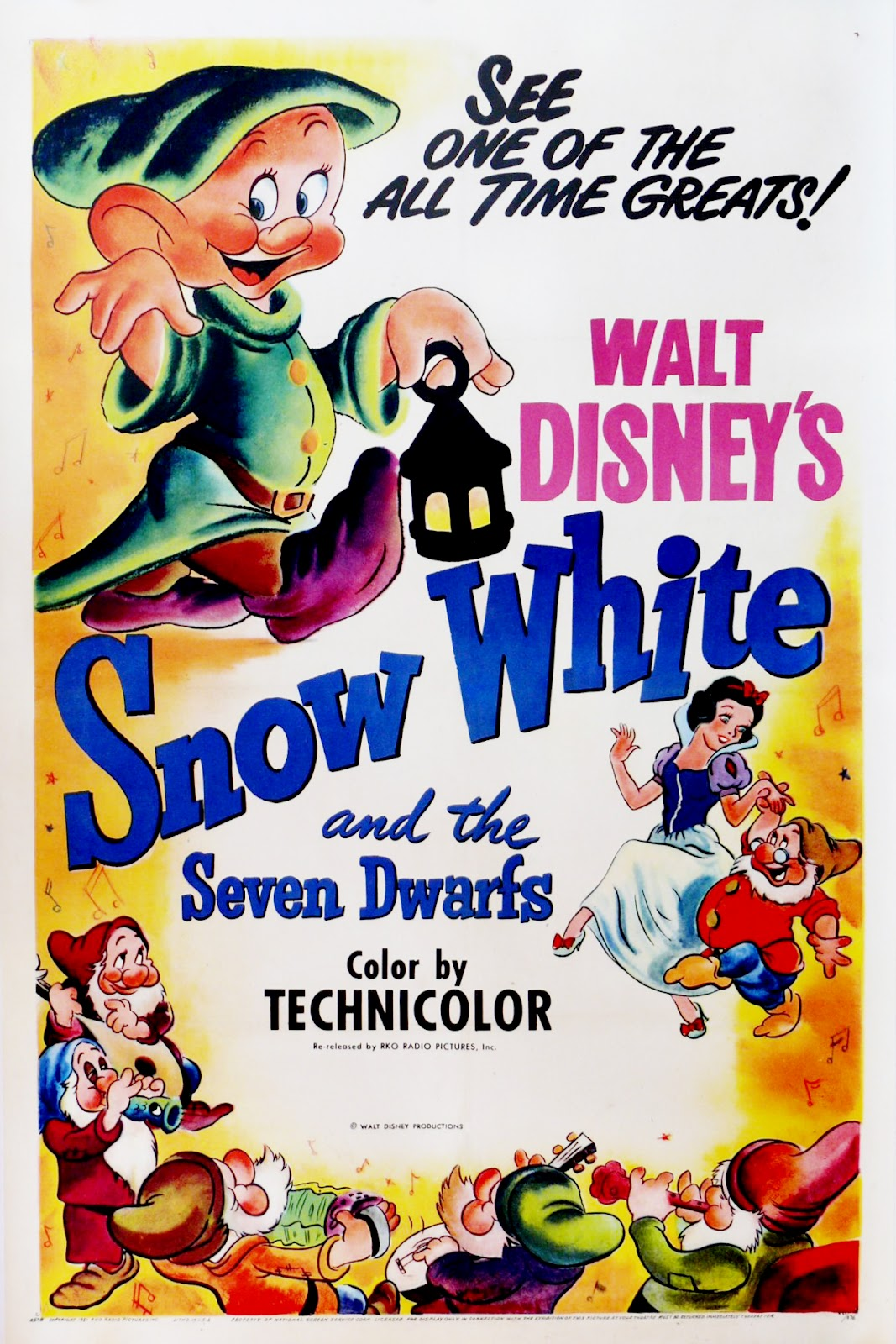 The Geeky Nerfherder: Movie Poster Art: Snow White And The ...