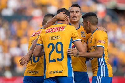 Resumen alineacion Tigres 3-0 Xolos jornada 16 clausura 2017