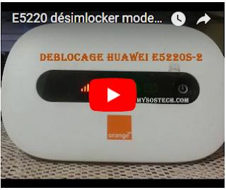 HUAWEI E5220 UNLOCK