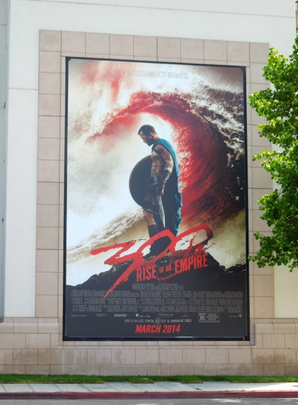 300: Rise of an Empire teaser billboard