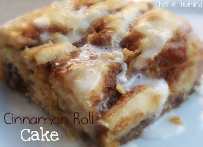 Cinnamon Buns Made With Cake Mix