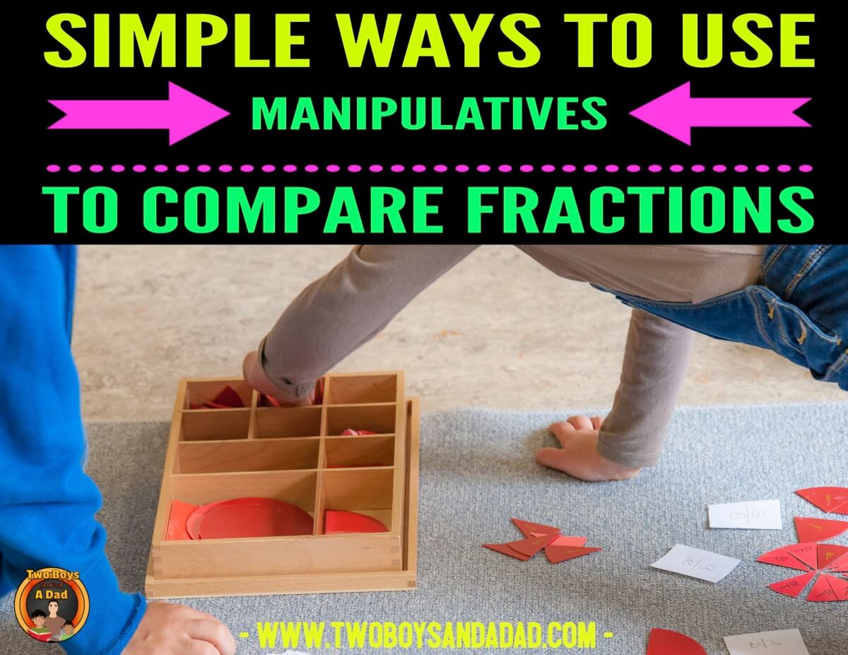 compare fractions with manipulatives