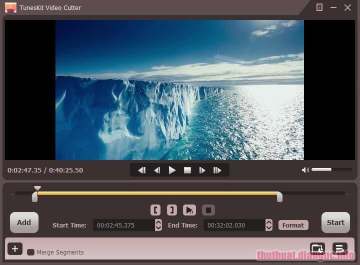 Download TunesKit Video Cutter 2.1.0.41 Full Crack, công cụ cắt video dễ sử dụng, phần mềm cắt video, TunesKit Video Cutter, TunesKit Video Cutter free download, TunesKit Video Cutter full key