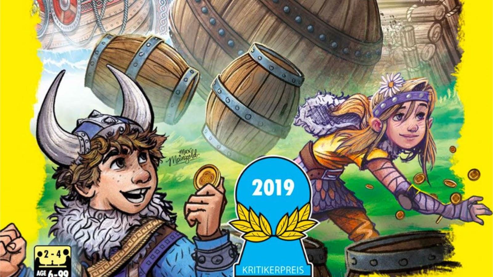 News Collider Board Game News Kinderspiel Winner Valley of the Vikings