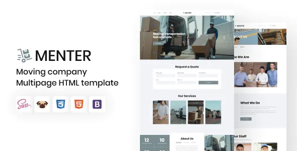 Best Moving Company HTML5 Template