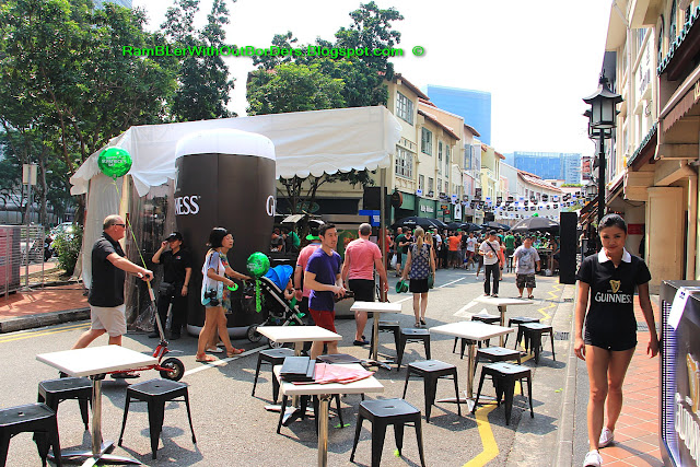 Circular Road, St Patrick's Day Street Festival, Singapore